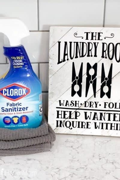 clorox fabric saniziter