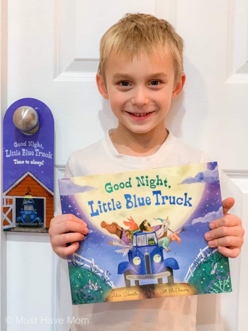 little blue truck pajama party