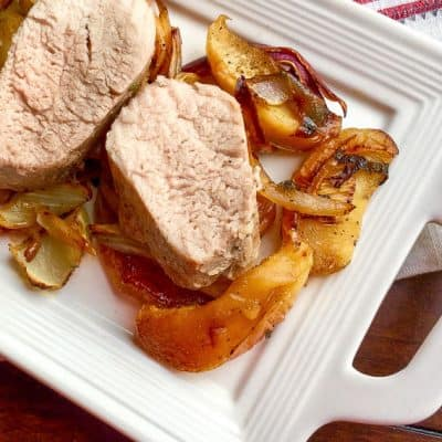 Roasted Pork Tenderloin Sheet Pan Dinner