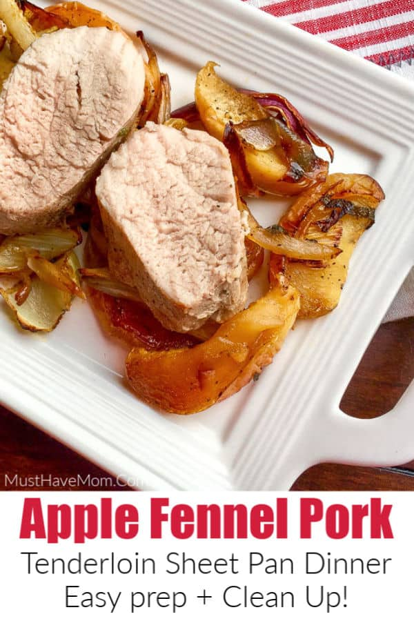 apple fennel pork tenderloin