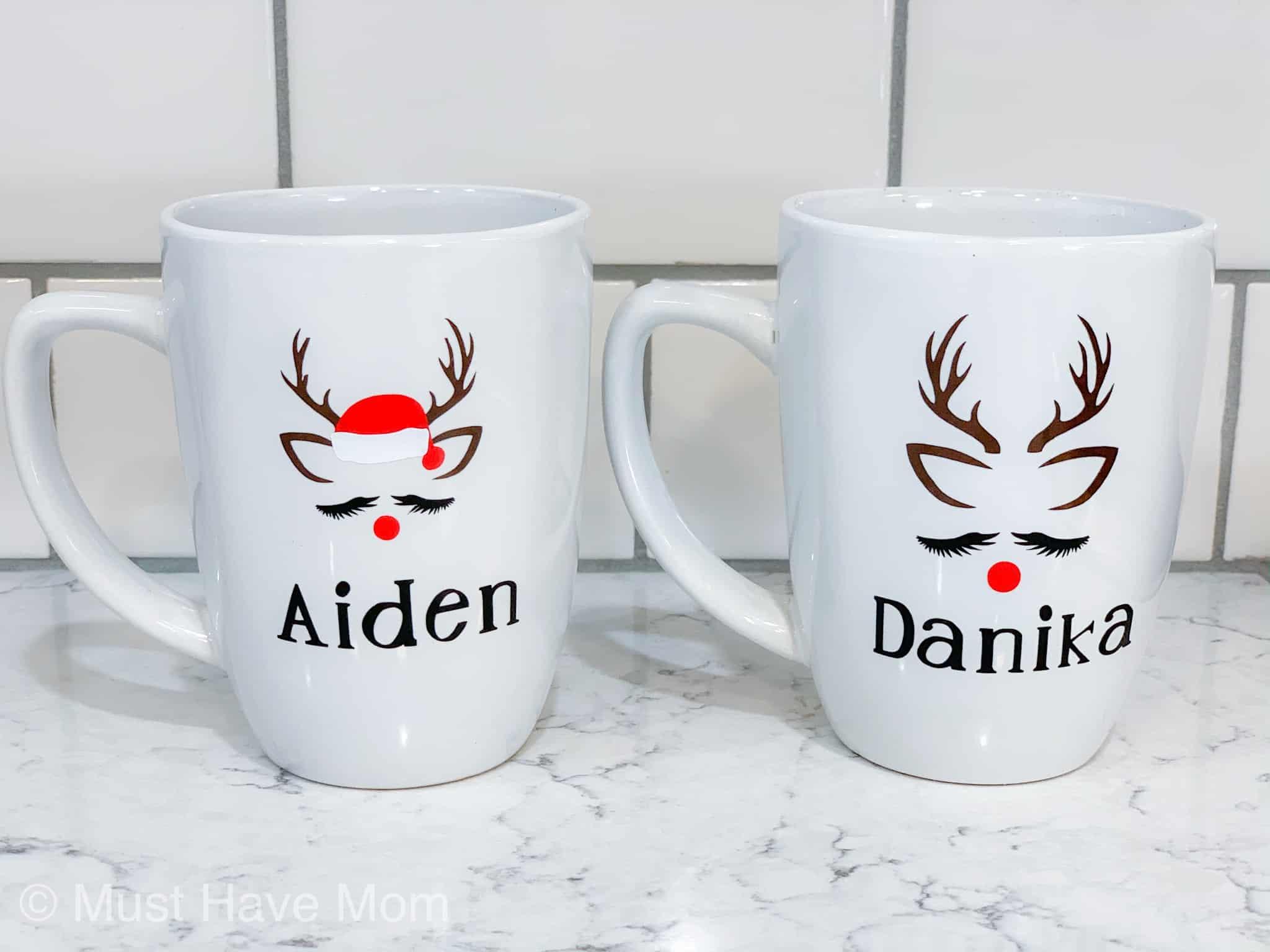 Diy Reindeer Mug Dollar Store Crafts Must Have Mom