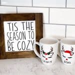 DIY Reindeer Mug | Dollar Store Crafts