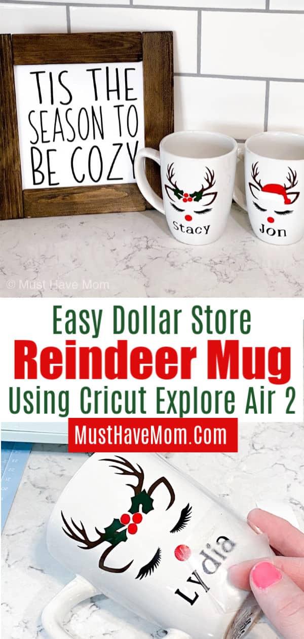 reindeer mugs DIY