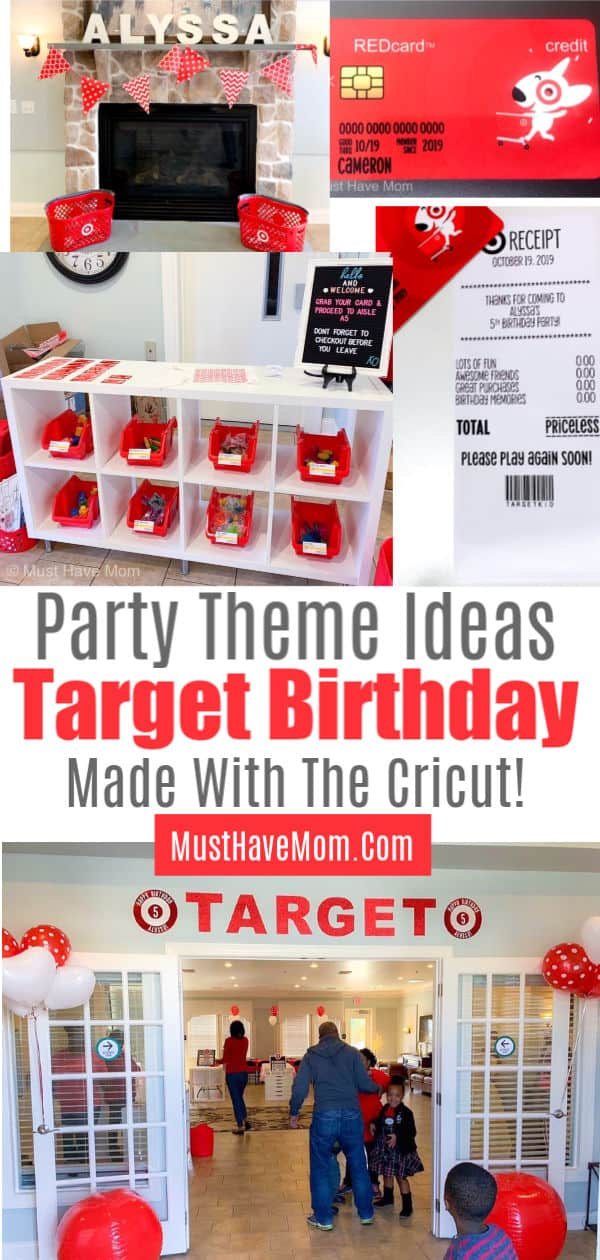target birthday party