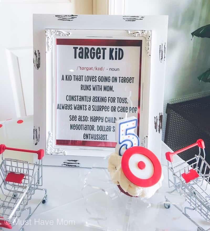 target kid sign
