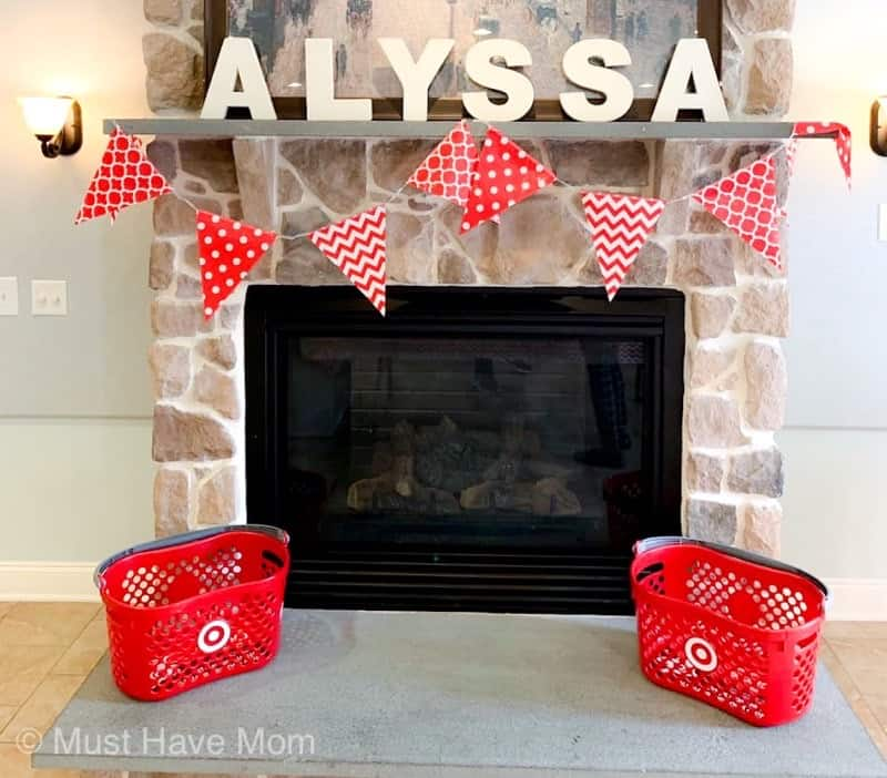 target party decorations
