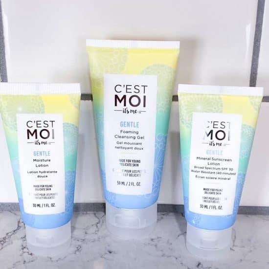 C'EST MOI 3 Step Gentle Skin Care Set