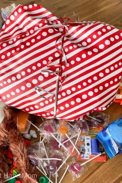 paper saran wrap ball game alternative