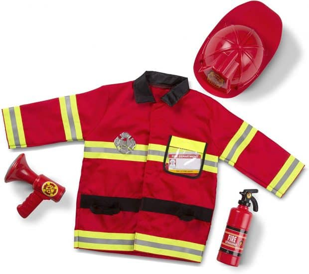 fire fighter dress up outfit