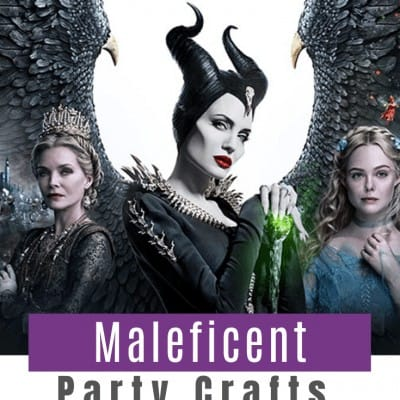 Maleficent Party Crafts & Food Ideas!