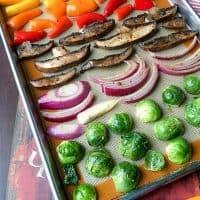 sheet pan veggies