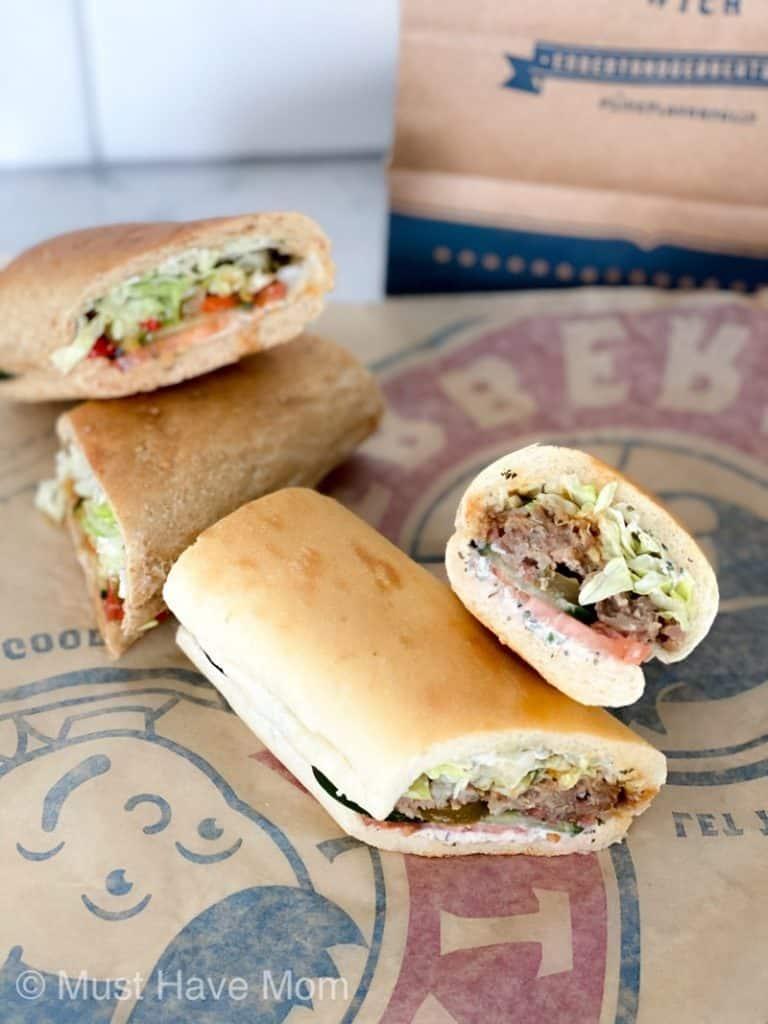 bold flavor sandwiches