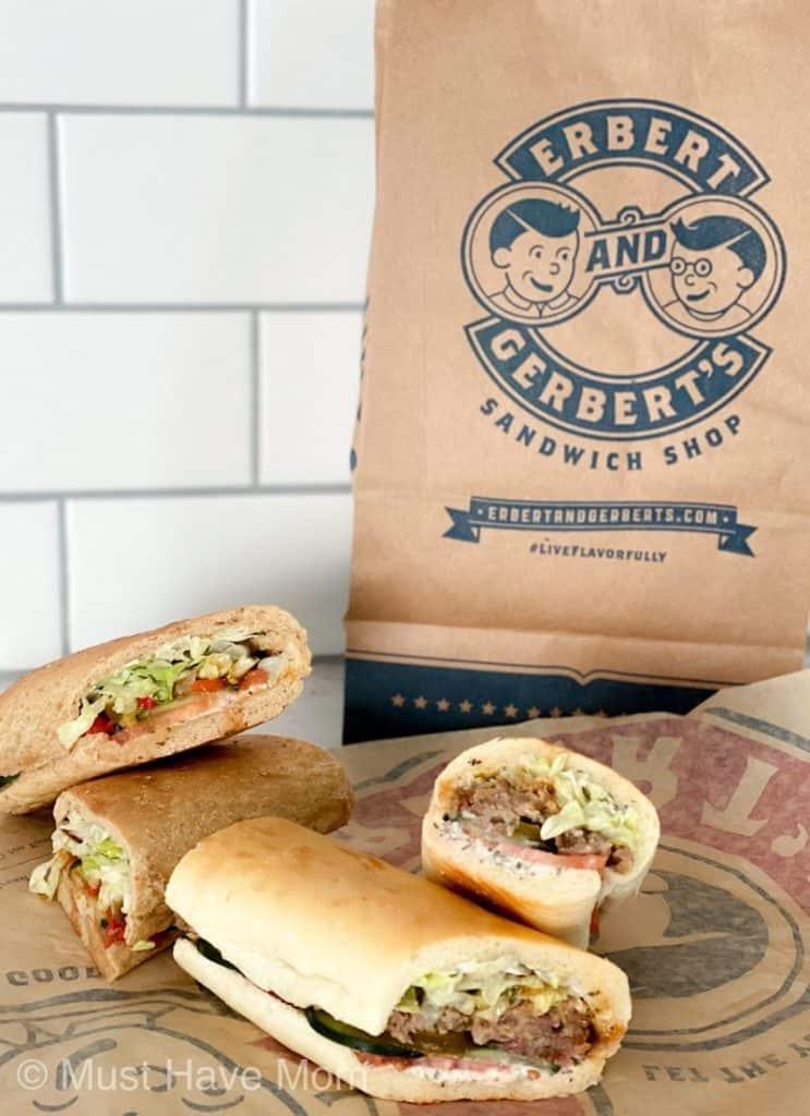 erbert and gerbert's new sandwiches