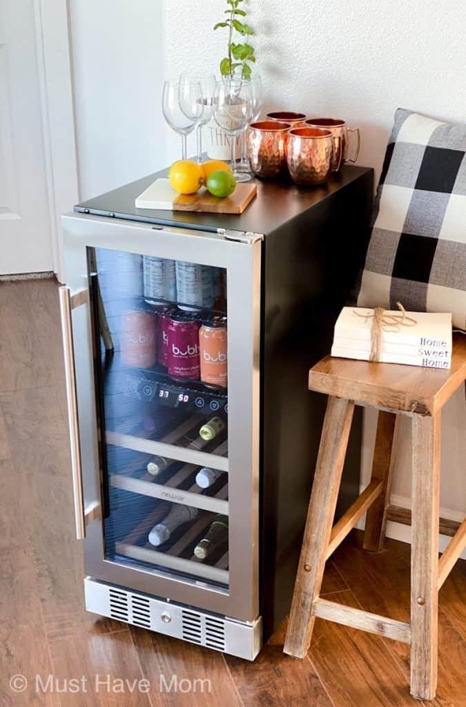 best freestanding beverage fridge
