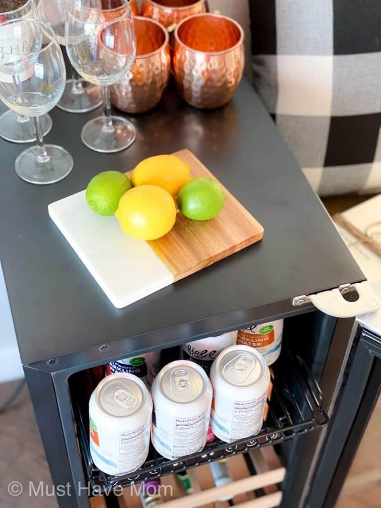 NewAir beverage fridge review