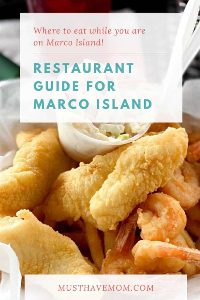 Marco Island restaurant guide