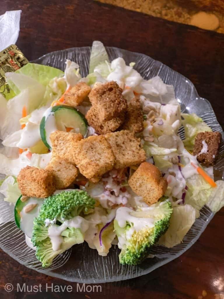 Snook Inn Salad Bar