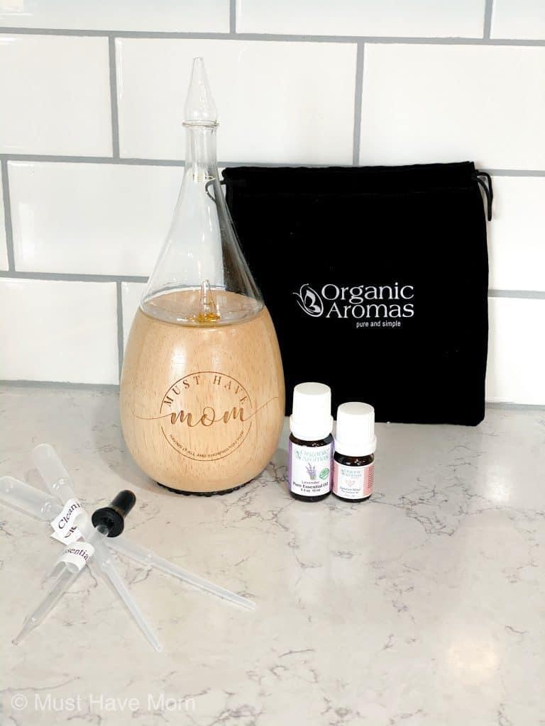 organic aromas nebulizing diffuser