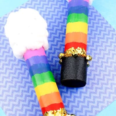 Rain Stick DIY | Paper Towel Roll Crafts