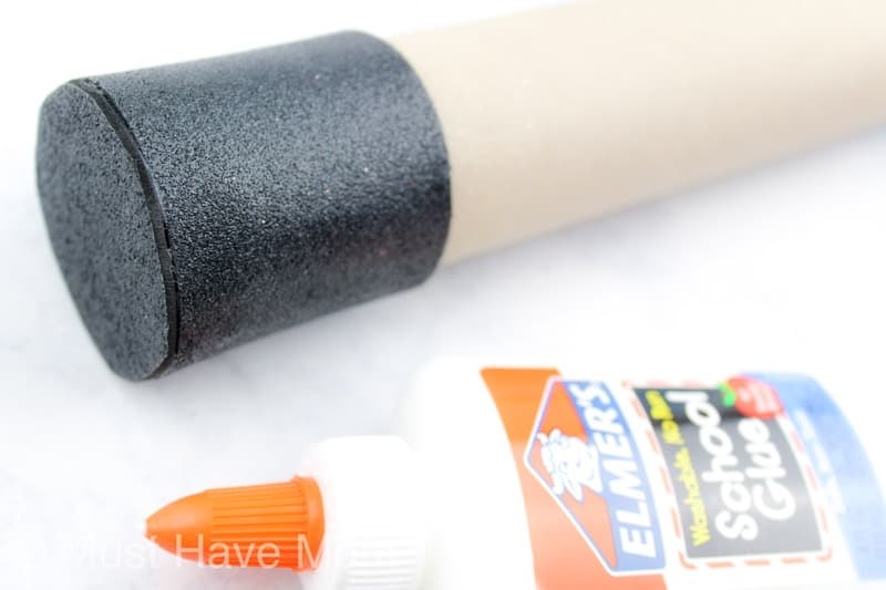 how to make a rain stick tube