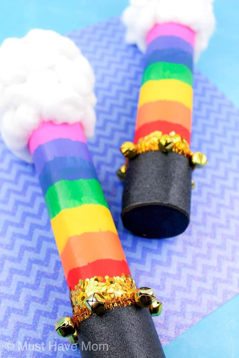 gold bells on rain stick