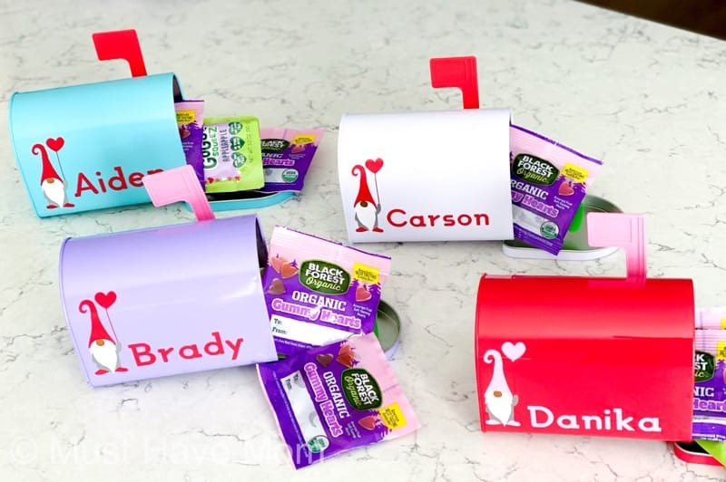 how to make valentines boxes