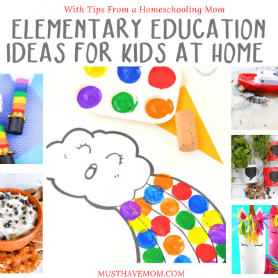 Elementary Education Ideas for Kids at Home