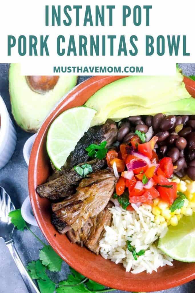 Instant Pot pork carnitas recipe