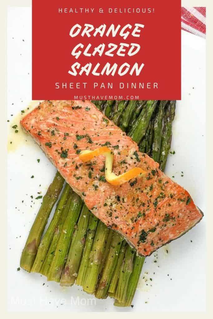 orange salmon recipe healthy