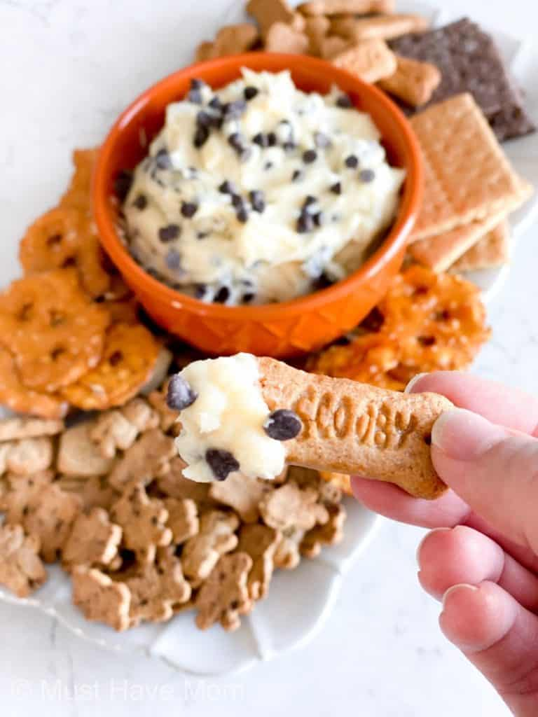 what to serve with cookie dough dip
