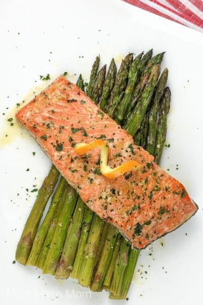 sheet pan salmon