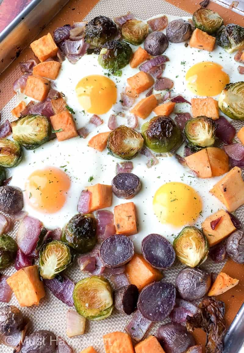 how to make sheet pan breakfast