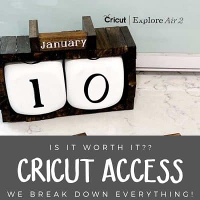Is Cricut Access Worth It?