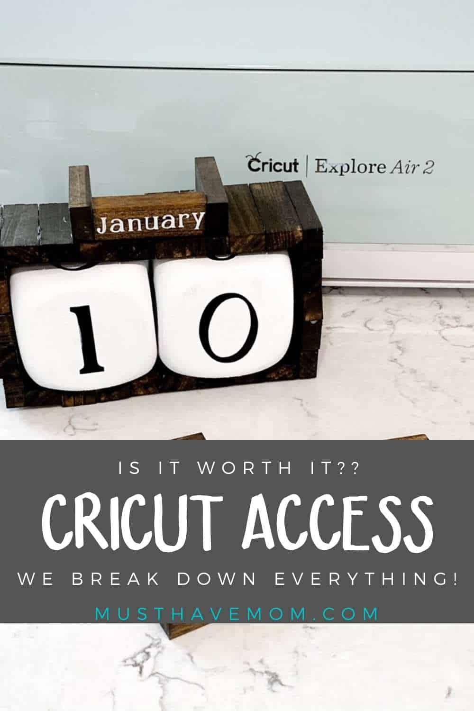 cricut access membership