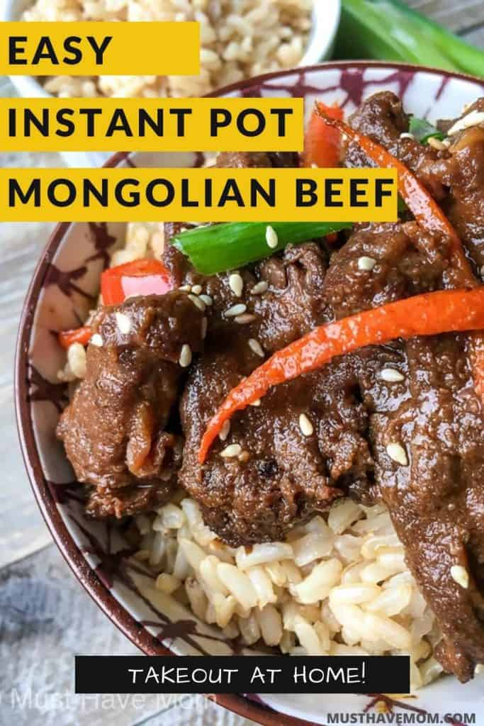 mongolian beef instant pot recipe