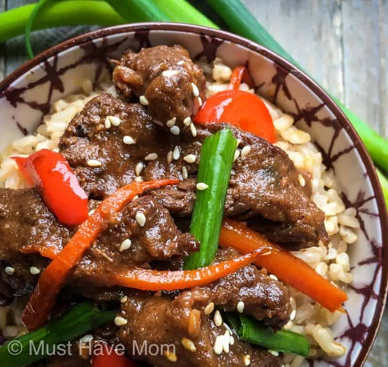 how to make Mongolian beef in Instant Pot