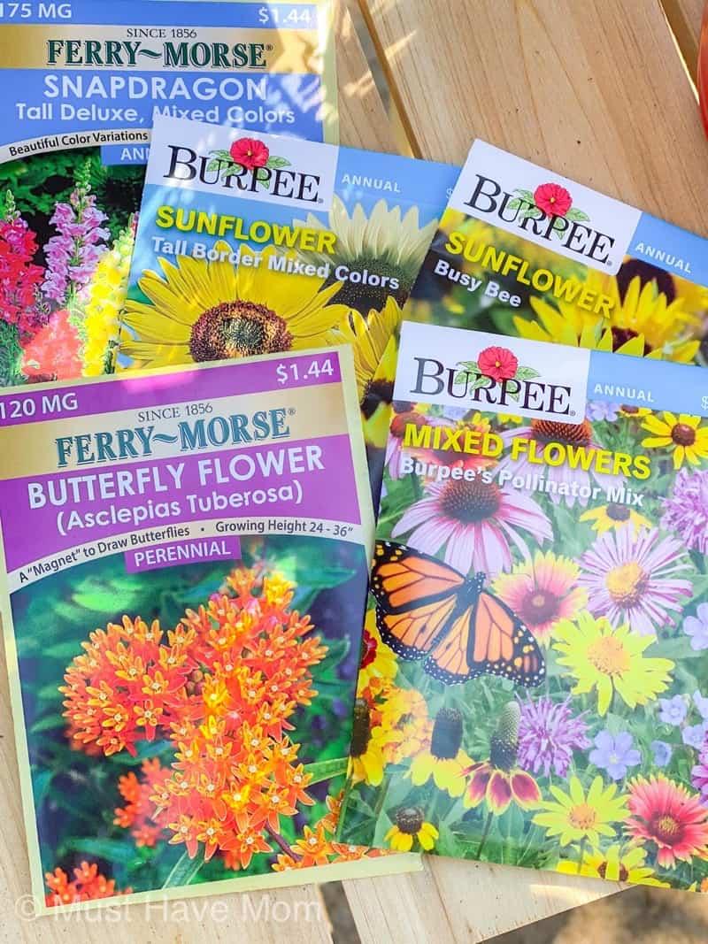 pollinator garden seeds