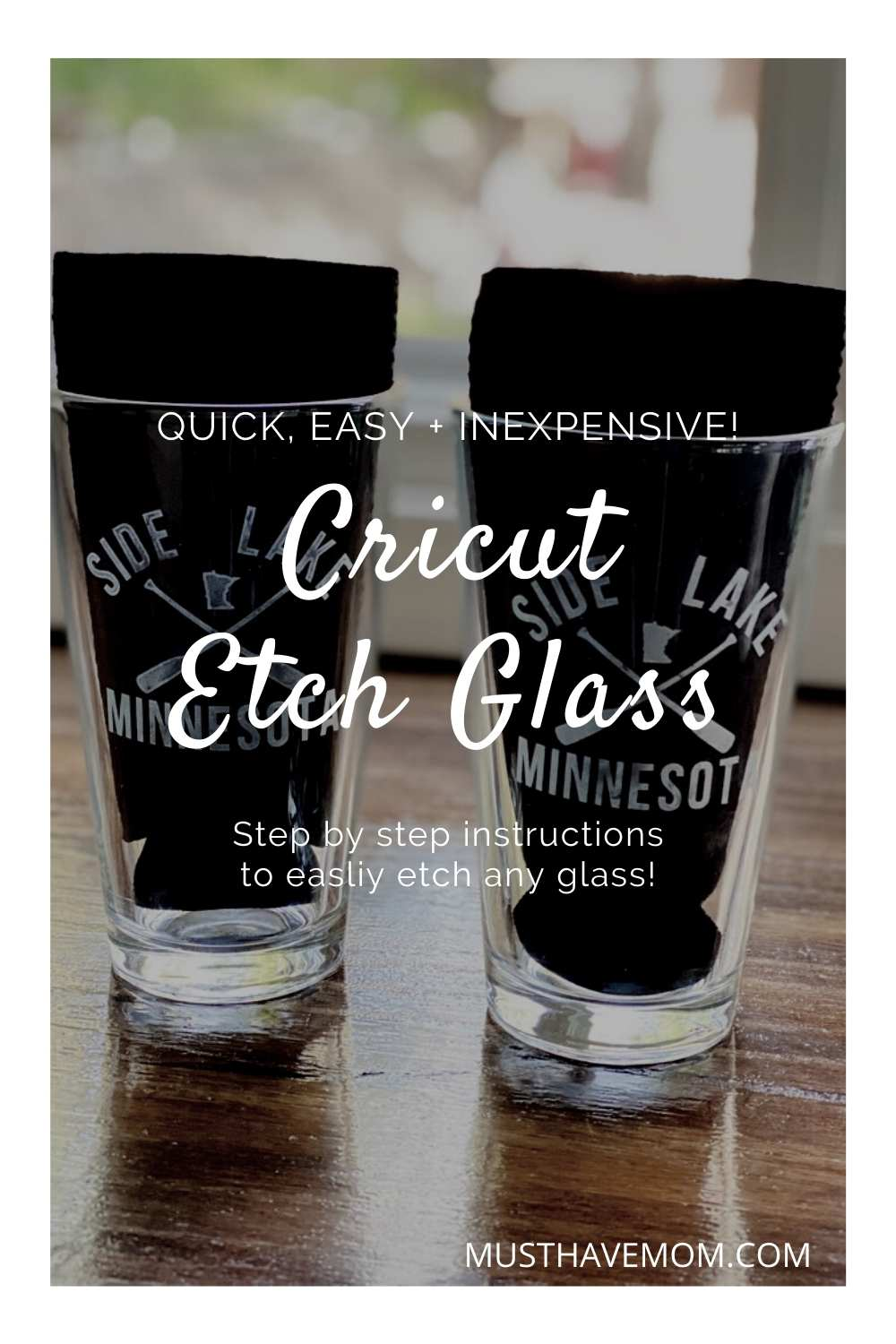 glass etching diy