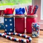 DIY Mason Jar Utensil Holder