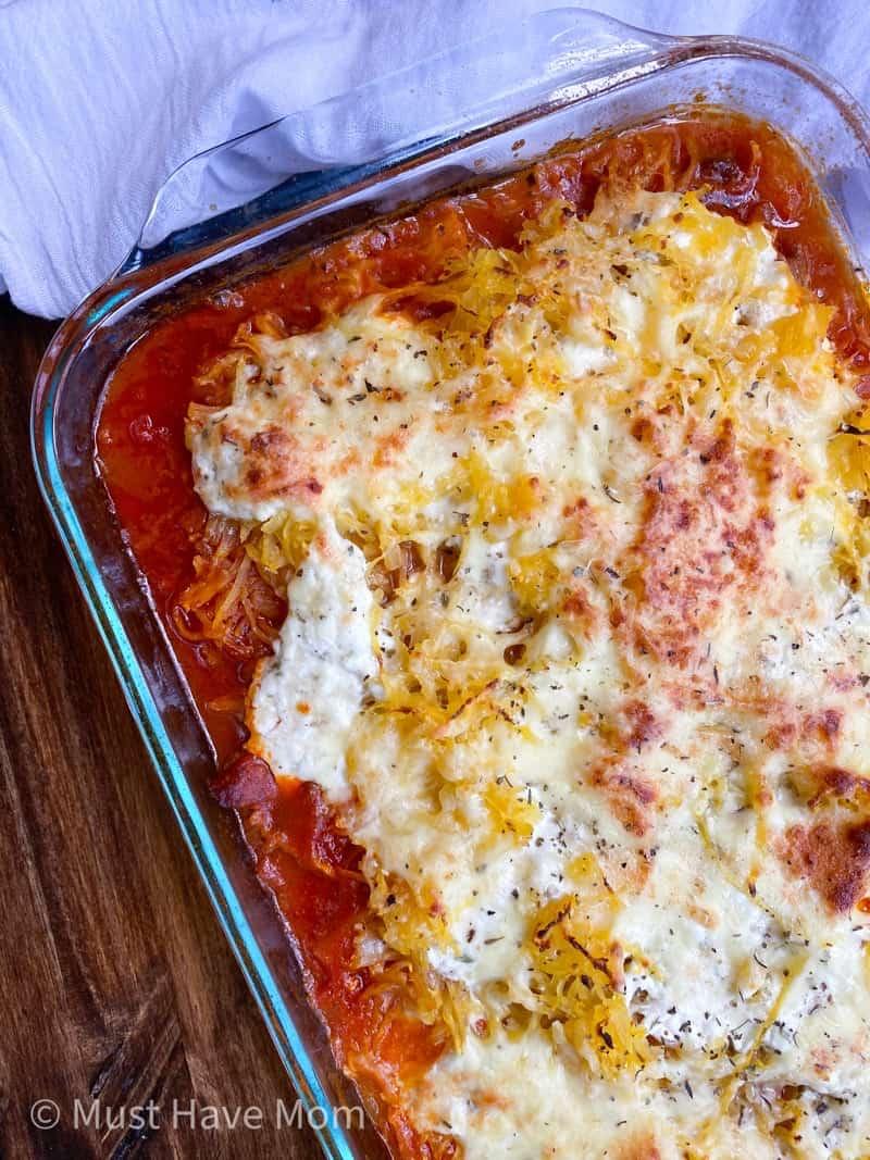 healthy lasagna recipe