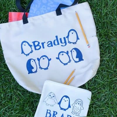 How To Personalize Back To School Supplies With Cricut