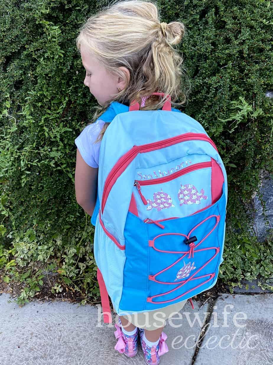 narwhal backpack diy