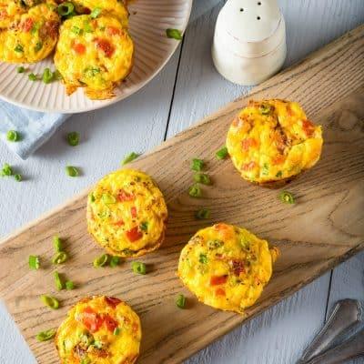 Italian Sausage & Broccoli Egg Muffin Recipe