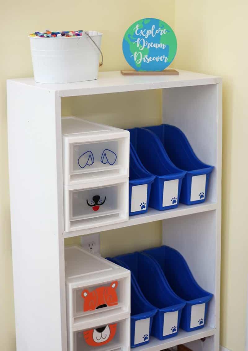 custom homeschool space