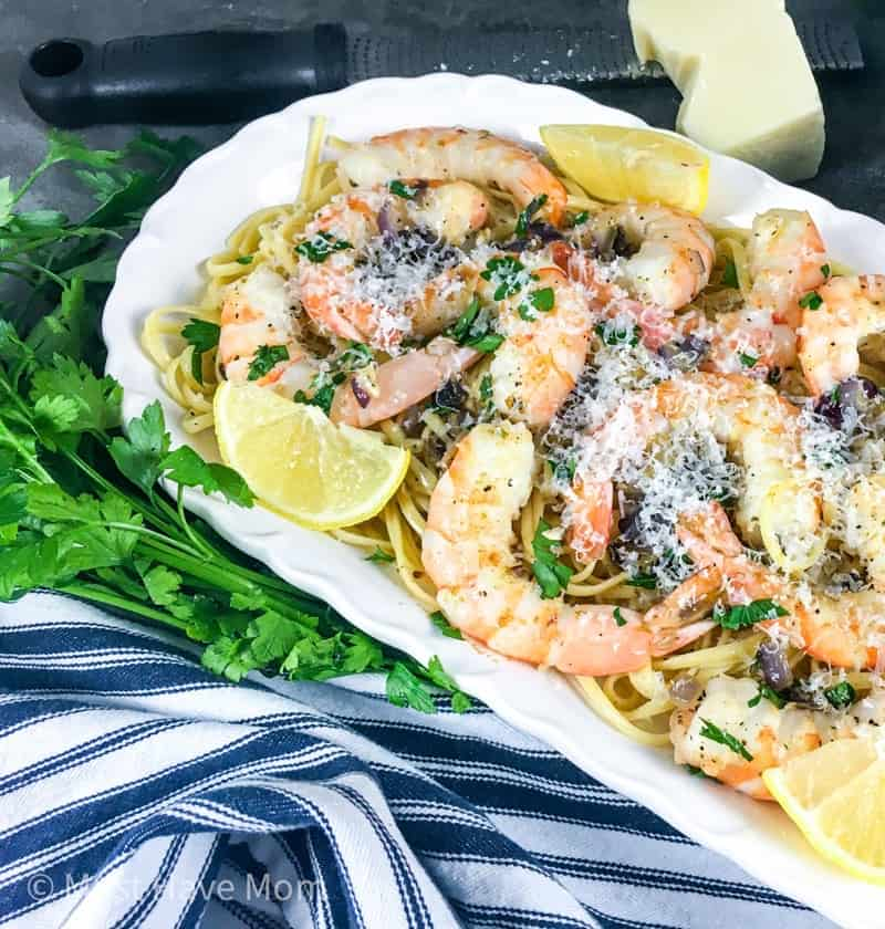 easiest shrimp scampi