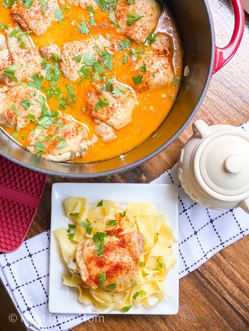 chicken paprikash recipe