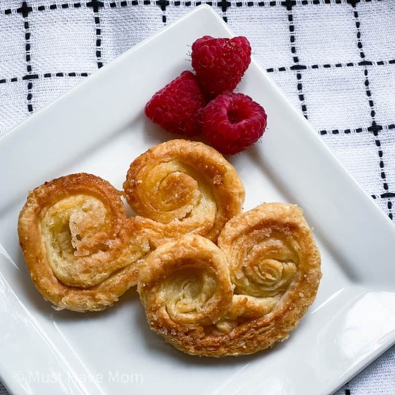 easy palmiers cookie recipe
