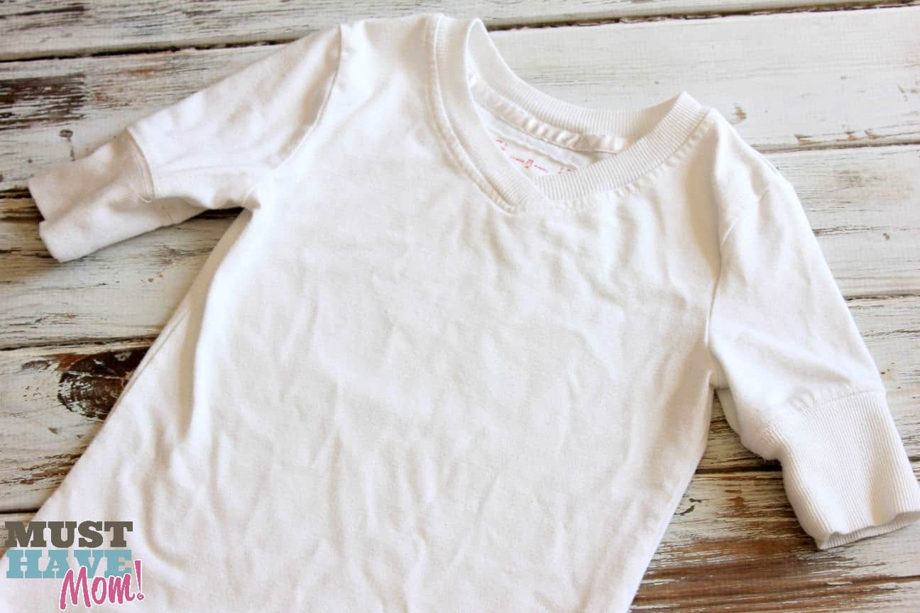 Biz shirt after treating stains - Must Have Mom