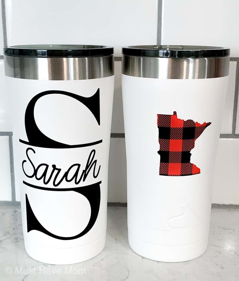 Cricut stainless steel tumbler diy