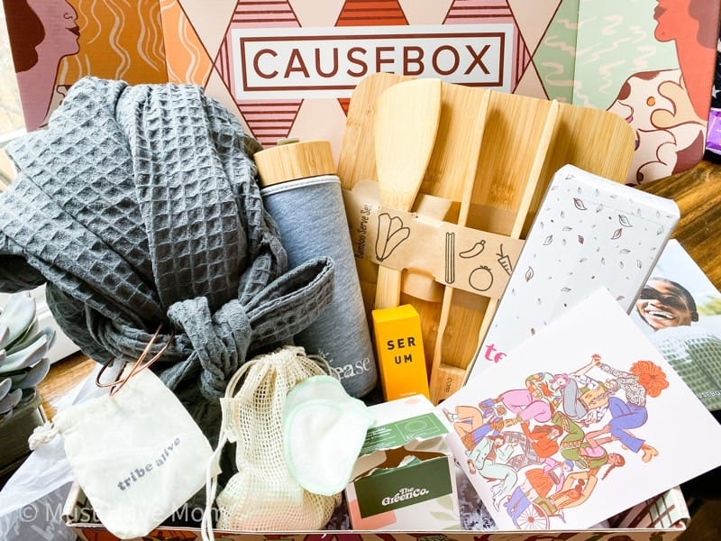 what is inside the causebox